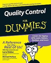 Quality Control for Dummies de Larry Webber