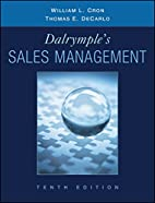 Dalrymple's Sales Management: Concepts…