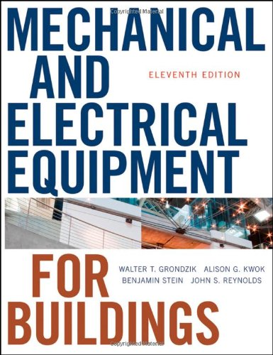 PDF] Mechanical and Electrical Equipment for Buildings | Free eBooks