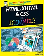 HTML, XHTML & CSS For Dummies por Ed Tittel