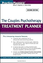 The Couples Psychotherapy Treatment Planner…