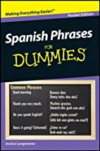 Spanish Phrases for Dummies Pocket Edition…