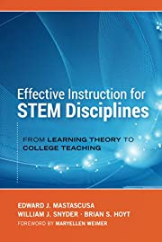 Effective Instruction for STEM Disciplines:…