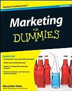 Marketing For Dummies by Alexander Hiam