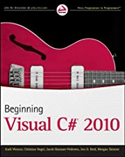 Beginning Visual C# 2010 by Karli Watson