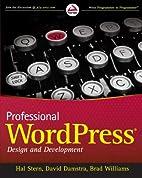 Professional WordPress by Hal Stern