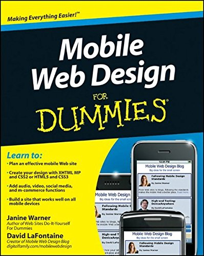 Mobile Web Design For Dummies (2010)