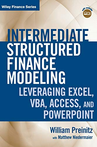 PDF] Intermediate Structured Finance Modeling, with Website