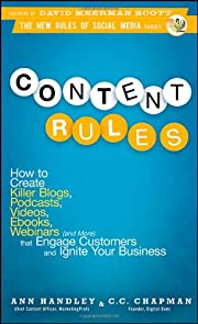 Content Rules: How to Create Killer Blogs,…