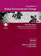Encyclopedia of Global Environmental Change,…