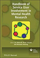 Handbook of Service User Involvement in…