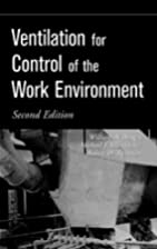 Ventilation for Control of the Work…