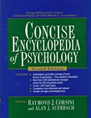 Concise Encyclopedia of Psychology, 2nd…
