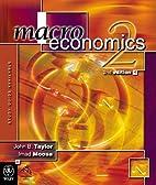 Macroeconomics. 2nd edition by John B.…