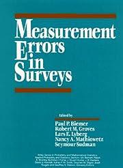 Measurement errors in surveys de Paul P.…