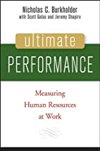 Ultimate Performance: Measuring Human…