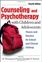 Counseling and Psychotherapy with Children…