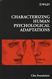 Characterizing Human Psychological…
