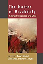 The Matter of Disability: Materiality,…