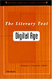 The Literary Text in the Digital Age…