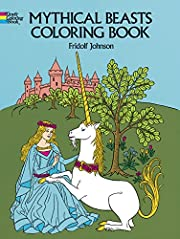 Mythical Beasts Coloring Book (Dover…