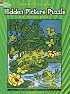Hidden Picture Puzzle Coloring Book by Anna…