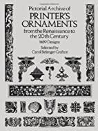 Pictorial Archive of Printer's Ornaments…
