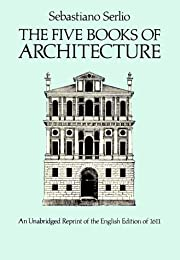 The Five Books of Architecture de Sebastino…
