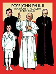 Pope John Paul II Paper Dolls in Full Color…
