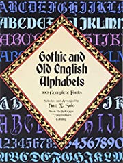 Gothic and Old English Alphabets: 100…