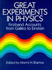 Great Experiments in Physics: Firsthand…