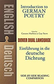 Introduction to German Poetry: A…