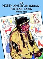 Six North American Indian Portrait Postcards…