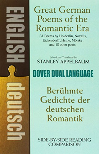 Image for Great German Poems of the Romantic Era: A Dual-Language Book (Dover Dual Language German)