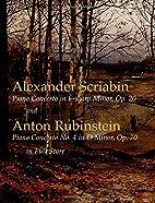 Scriabin's Piano Concerto in F-Sharp Minor,…