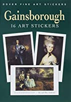 Gainsborough: 16 Art Stickers by Thomas…