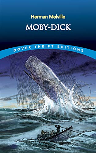 Moby-Dick written by Herman Melville