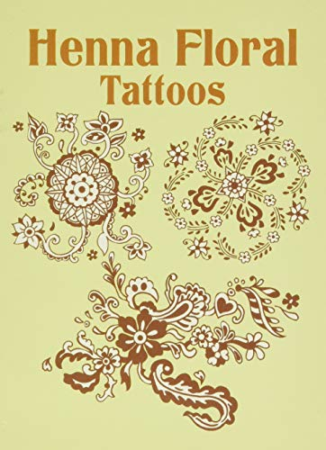 Free Henna Floral Tattoos Dover Tattoos Books A One