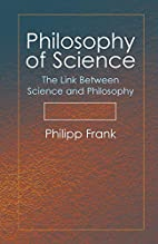 Philosophy of Science: The Link Between…