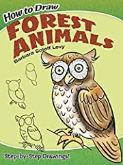 How to Draw Forest Animals (Dover How to…