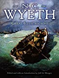 N.C. Wyeth great illustrations / edited and with an introduction by Jeff A. Menges