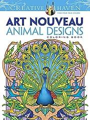 Dover Creative Haven Art Nouveau Animal…