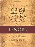 Thirty opera arias for tenors