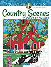 Creative Haven Country Scenes Color by…