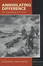 Annihilating Difference: The Anthropology of…