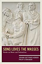 Song loves the masses : Herder on music and…