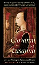 Giovanni and Lusanna: Love and Marriage in…