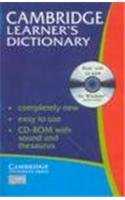 Cambridge Learner's Dictionary with CD-ROM…