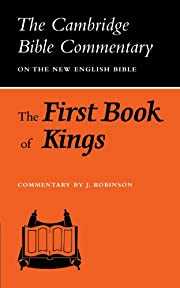 The First Book of Kings (Cambridge Bible…