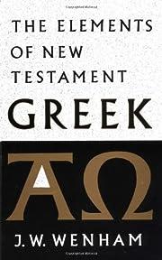 The Elements of New Testament Greek af J. W.…